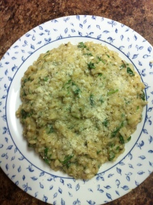 Green Herb Risotto