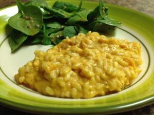 Oh risotto, my old friend.  You're the very best standby.