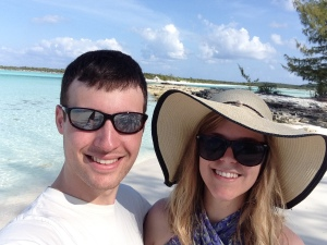 This selfie is great and all, but our trip to the Bahamas this year witnessed my parents' very first selfie, and that is a whole lot more exciting.  They are too cute!
