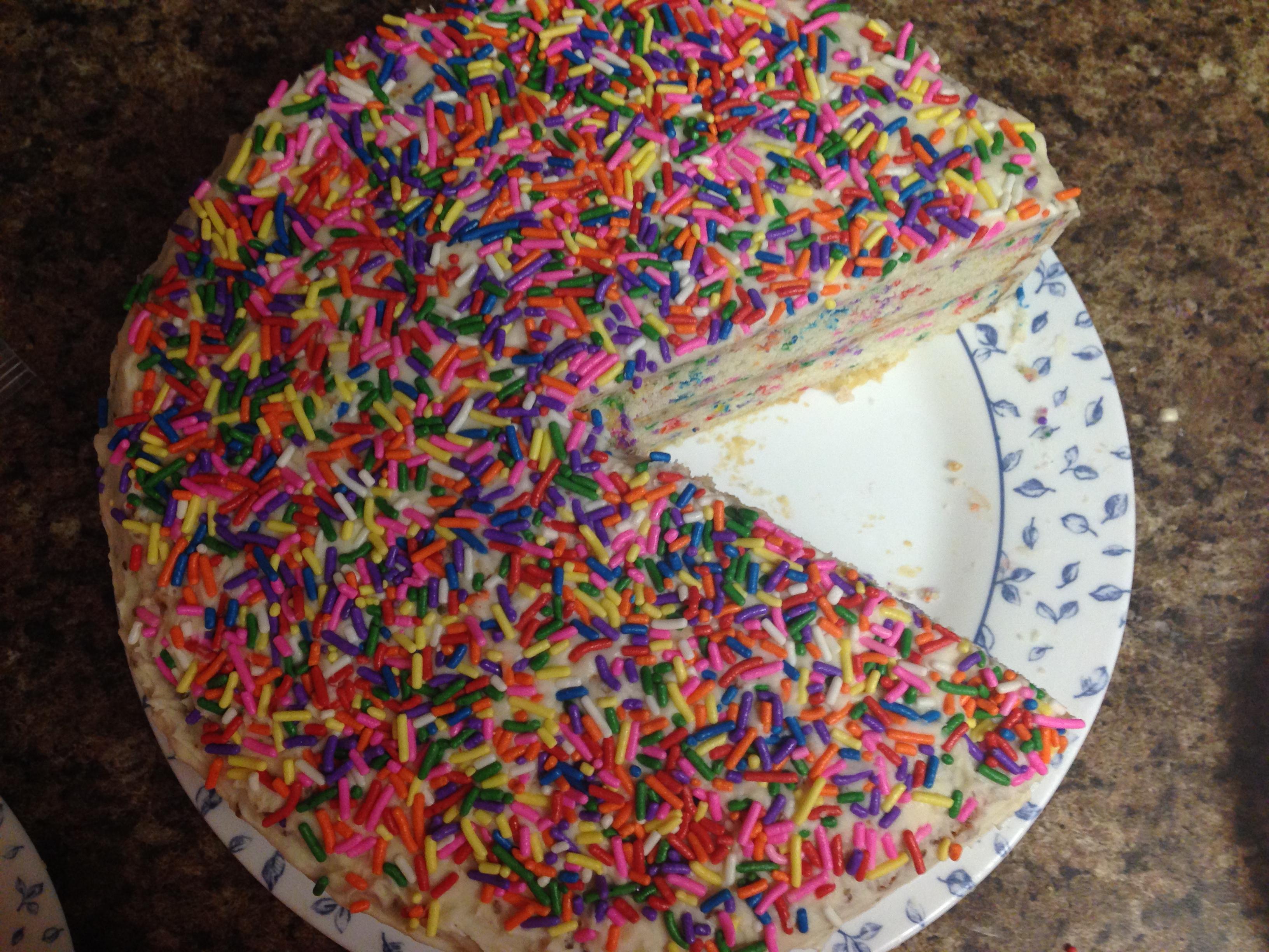 Whole Foods Chocolate Funfetti Gluten Free Cake