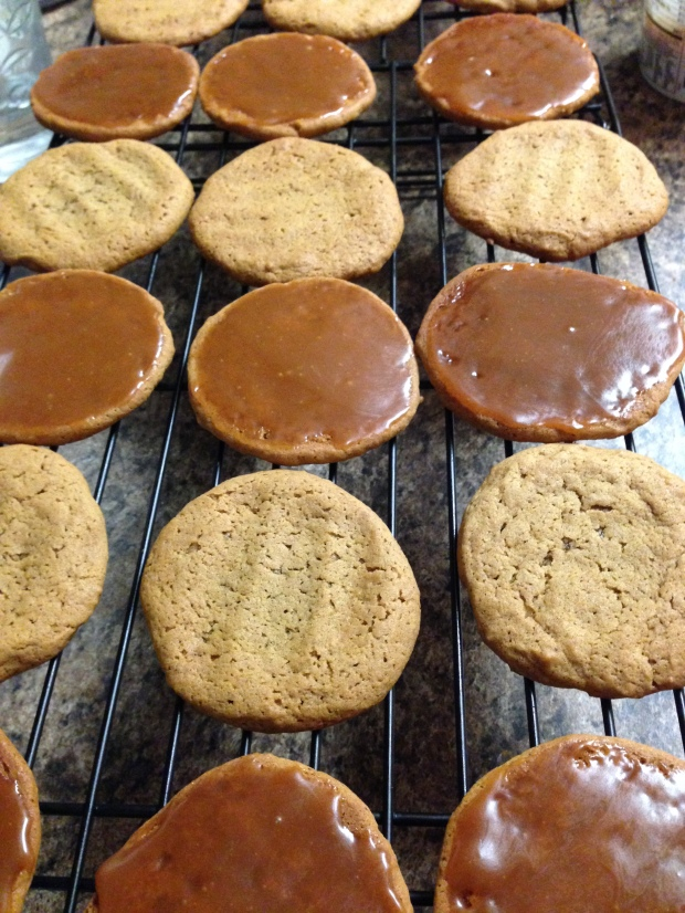Gingersnap Pumpkin Ice Cream Sandwich